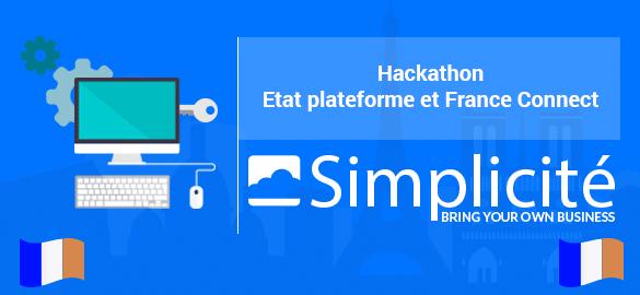 simplicit at hackathon france connect. Black Bedroom Furniture Sets. Home Design Ideas