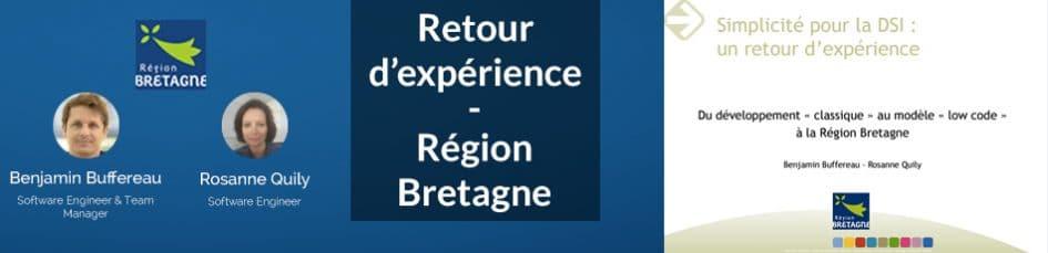 Retour d'expérience région Bretagne