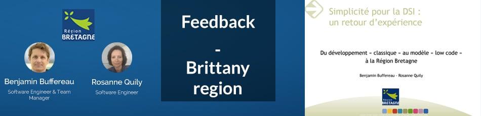 Feedback - Brittany Region