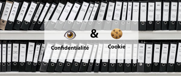 cookie et confidentialité