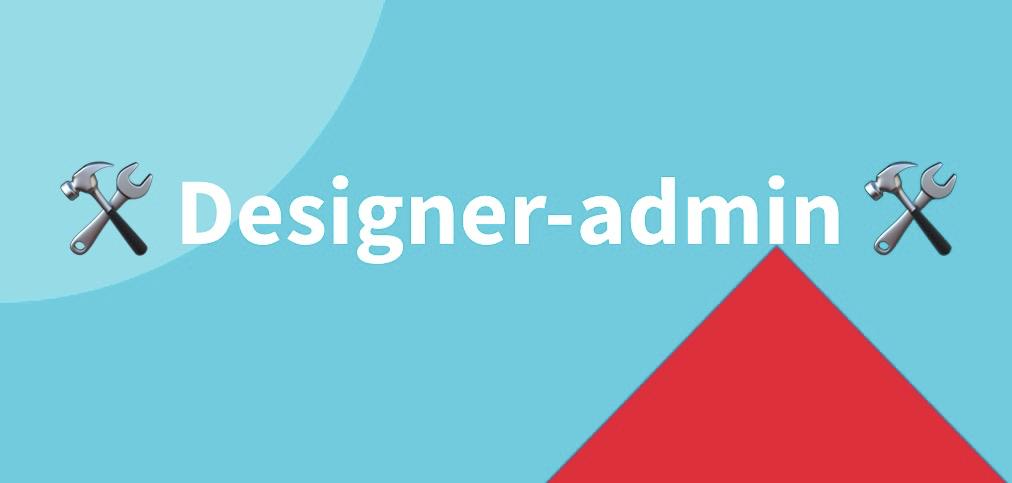 Designer et Admin